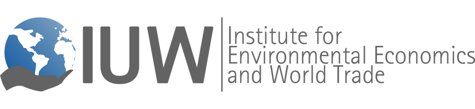 Logo Institute for Environmental Economics and World Trade